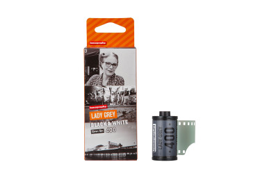 Lomography Lady Grey B&W 400 35mm Pack de 3