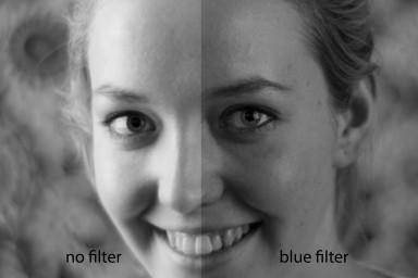 Color Filter Blue  58mm