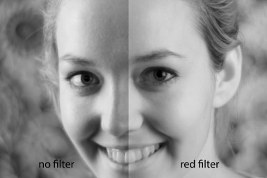Color Filter Red 58MM