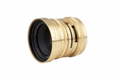 New Petzval 55 mm f/1.7 MKII Brass - Canon RF Mount