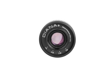Pacchetto Diana+ 75 mm Glass Lens SLR