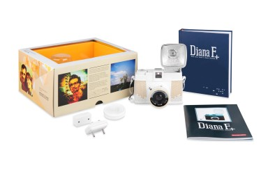 Diana F+ Camera and Flash (Honeycomb Edition)