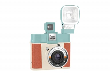 Diana Instant Square Camera with Flash Adriano Edition
