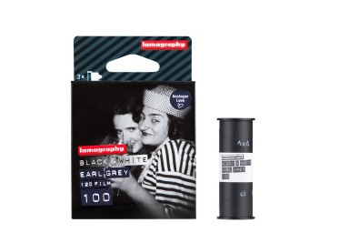 Lomography Earl Grey B&W 100 ISO 120 film 3 pack