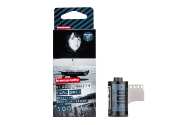 Lomography Earl Grey B&W 100 ISO 35mm Pack de 3