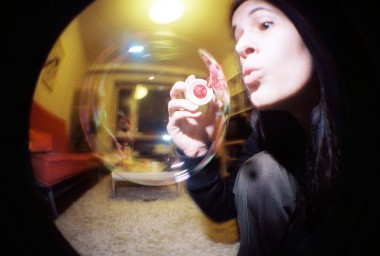 Fisheye No. 2 35 mm Camera Pink Edition