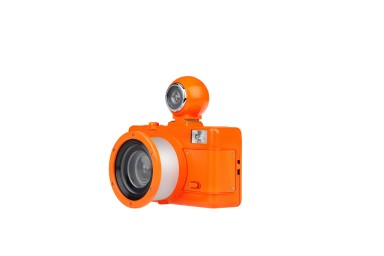Fisheye No. 2 35 mm Camera Vibrant Orange Edition