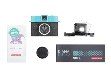 Diana Baby 110 camera met 24mm lens
