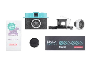 Diana Baby 110 and Lens Package