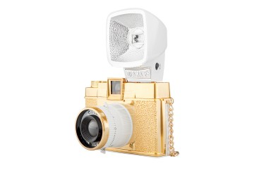 Diana F+ Camera and Flash (Gold Edition)