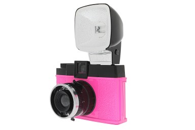 Diana F+ Camera and Flash (Mr. Pink Edition)