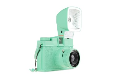 Diana F+ Camera and Flash (Neptune Green Edition)