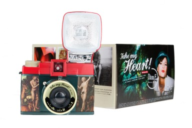 Diana F+ Camera and Flash (Take My Heart Edition)