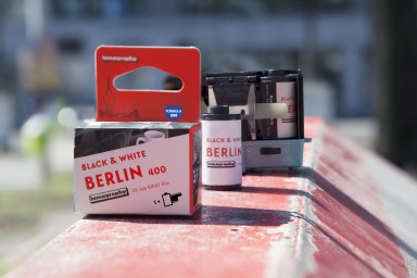 B&W 400 35 mm Berlin Kino Film Formule 2019 - Lot de 10 Pellicules