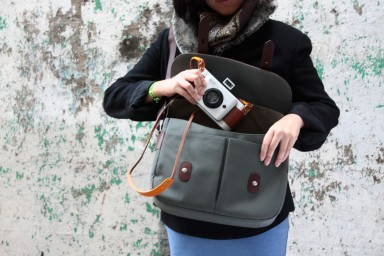 fc4294aedc59 Zkin Shoulder Bag - Champ (navy grey) · Lomography Shop