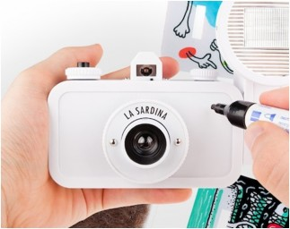 La Sardina Camera avec Flash DIY Edition