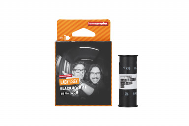 Lomography Lady Grey 400 ISO 120 Film 3 Pack