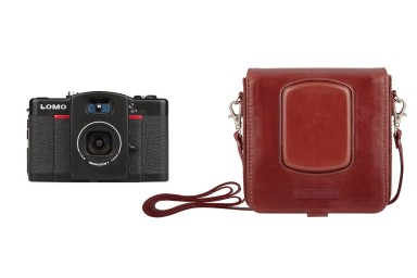 Lomo LC-Wide & Leather Case Bundle & Kameratsche & Leder & Echtleder