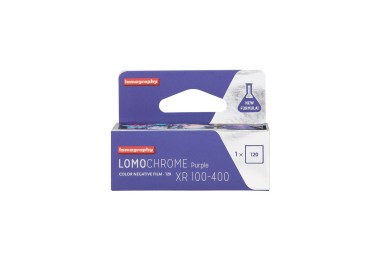 New Lomography LomoChrome Purple Film 120 Pack of 15