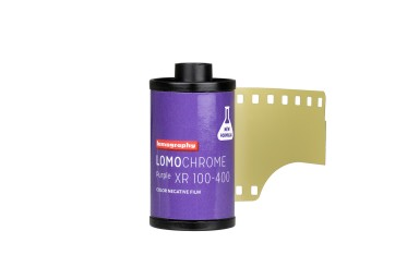 全新 LomoChrome Purple 35mm 紫色負片(5 卷裝)