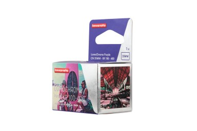 New LomoChrome Purple 35mm Pack de 15