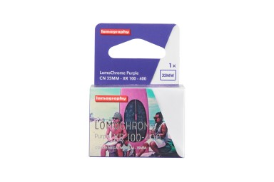 New LomoChrome Purple 35mm Pack of 5