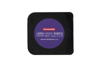 限量發售!Lomography LomoChrome Purple Super 8 紫色負片