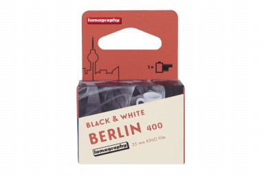 B&W 400 35 mm Berlin Kino Film Bundle of 5