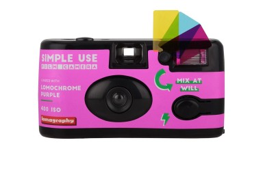 2019 Lomochrome Purple Simple Use Film Camera Bundle of 3