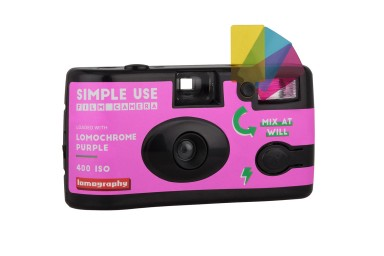 2019 Lomochrome Purple Simple Use Film Camera 3台セット - プレオーダー