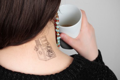 Lomo Temporary Tattoos