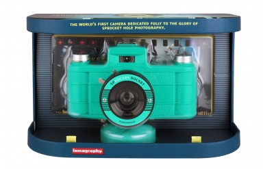 Sprocket Rocket SUPERPOP! Teal 齒孔全景相機