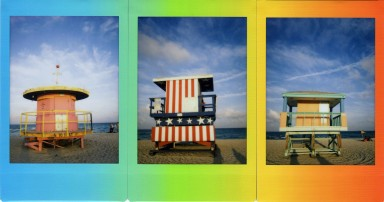 Pellicule instantanée Fuji Instax Mini Film Rainbow Single Pack