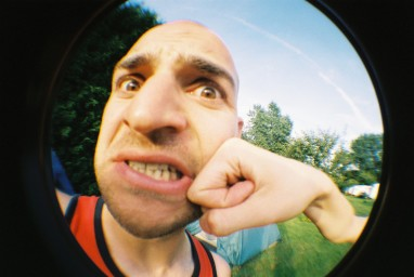 Fisheye One 35 mm Camera Red Edition