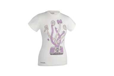 Lomography Trigger Fingers Womens Shirt