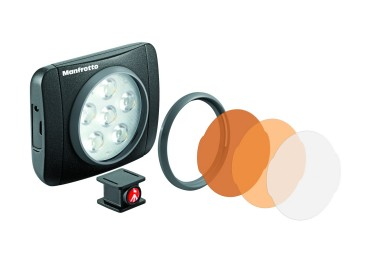 Manfrotto Lumimuse 6 led & Multicolor Filter set