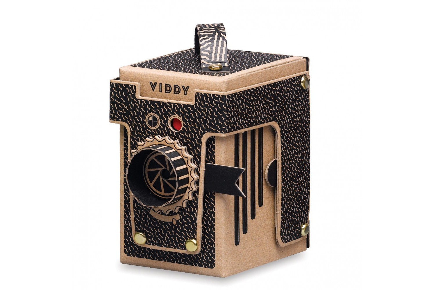 VIDDY Pinhole Camera Black · Tienda Lomography