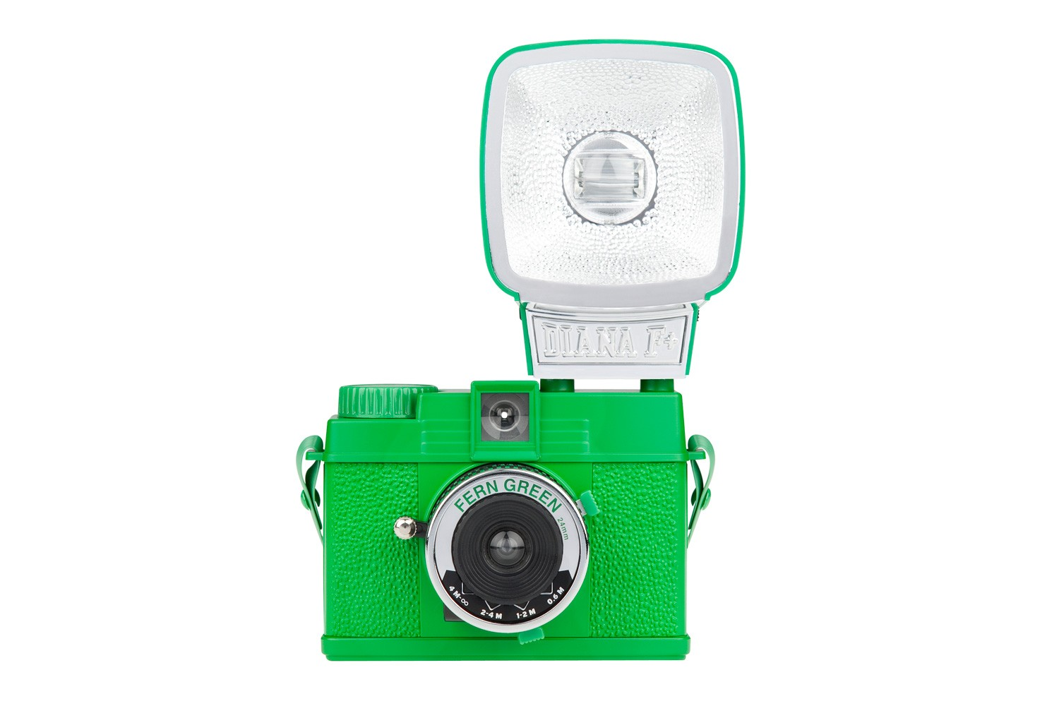 Diana Mini Camera And Flash Fern Green Edition
