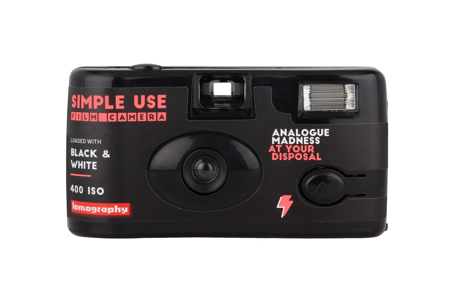 Simple Use Film Camera Black and White · Lomography Shop