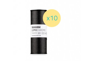 Lomography LomoChrome Turquoise XR 100-400 120 Pack of 10