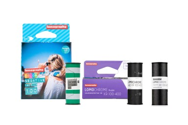 Lomography Film Starter Kit 120