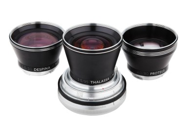 Neptune Convertible Art Lens System - Attacco Pentax K