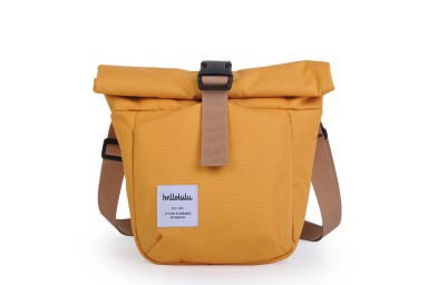 Hellolulu Matt: Compact Camera Bag - Yellow