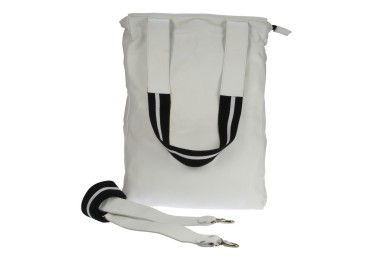 Lomofolio Bag White with White Strap