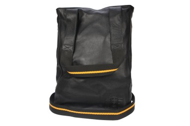 Lomofolio Bag Black with Orange Strap