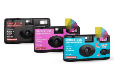 Simple Use Film Camera (レンズ付フィルム) 3-Pack Bundle