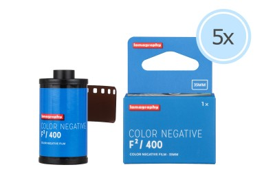 Lomography Color Negative Film F²/400 Pack of 5