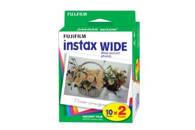Película Fuji Instax Wide (Pack Doble)