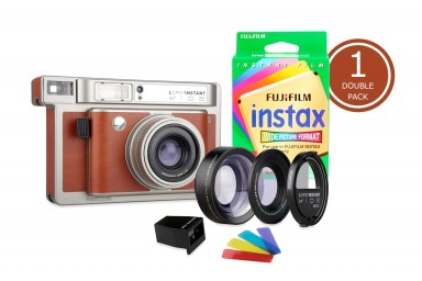 Lomo'Instant Wide Central Park & 1x Fujifilm Instax Wide Double Pack Film
