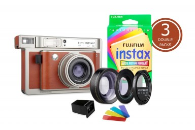 Lomo'Instant Wide Central Park & 3x Fujifilm Instax Wide Double Pack Film